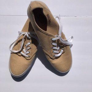Vans Khaki Sneakers size 10 preowned but EUC